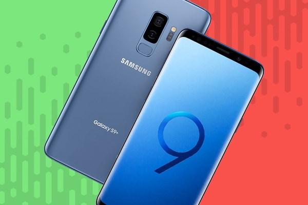 03f7bba95 O Galaxy S9+ chegou com o grande desafio de superar a geração anterior de  celulares de ponta da Samsung
